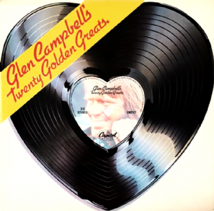 Glen Campbell ‎- Glen Campbell's Twenty Golden Greats (LP) (VG/VG)